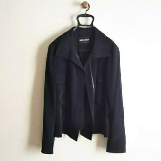 ジョルジオアルマーニ(Giorgio Armani)のイタリア製 アルマーニ*黒ジャケット(その他)