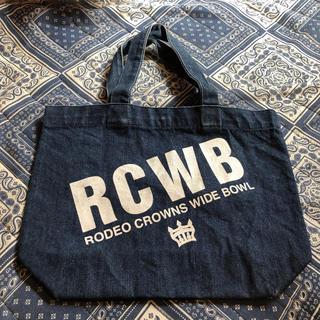 ロデオクラウンズワイドボウル(RODEO CROWNS WIDE BOWL)のデニム  ハンドバック(ハンドバッグ)