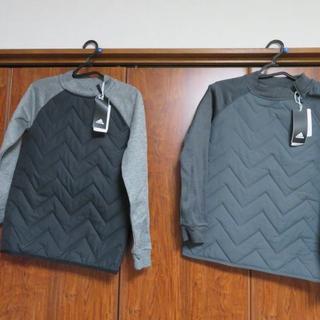 adidas - 半額2枚【ジュニア】クルーネック パデッドスウェットadidas サッカーウェア