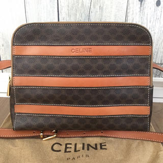 celine - 極美品 CELINEセリーヌ マカダム ショルダーバッグ
