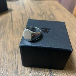 マルタンマルジェラ(Maison Martin Margiela)のtomwood オーバルリング(リング(指輪))