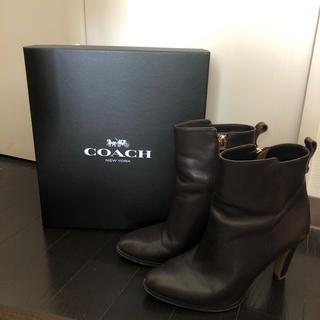 コーチ(COACH)のcoach ショートブーツ(ブーツ)