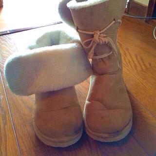 2way ムートンブーツ(ブーツ)