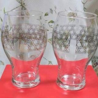 値下げします ペアグラス カゴメ株主優待10年記念グラス(グラス/カップ)