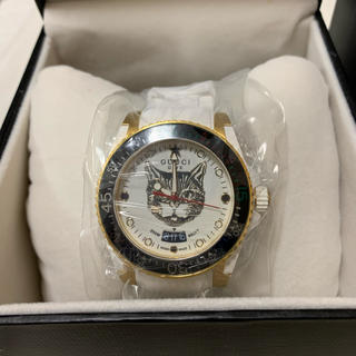 Gucci - GUCCI ダイブ キャット 腕時計