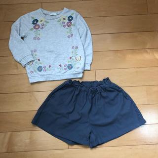 サマンサモスモス(SM2)の2点セット(Tシャツ/カットソー)