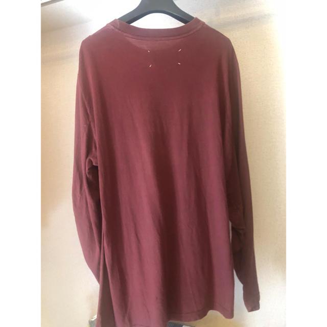 Maison Martin Margiela(マルタンマルジェラ)のmargiela tシャツ s メンズのトップス(Tシャツ/カットソー(七分/長袖))の商品写真
