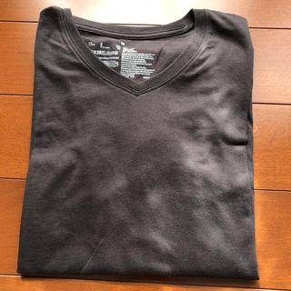MUJI (無印良品) - 無印長袖tシャツ Vネック