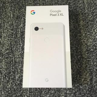 ANDROID - 新品未使用 Pixel3 XL 白 SIMフリー Google Android
