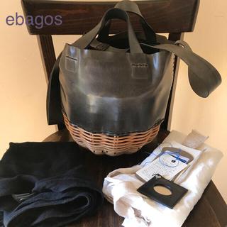 ebagos エバゴス 2016AW 2wayどんぐりオイルショルダー(大)