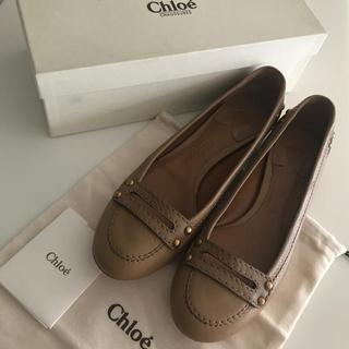 クロエ(Chloe)の新品 フローレント 購入 Chloe パンプス 38サイズ 購入価格63000円(ハイヒール/パンプス)