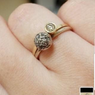 アガット(agete)のagete シンプルシルバーデザインリング(リング(指輪))