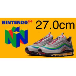 ナイキ(NIKE)の【日本未発売】27cm ナイキ エアマックス97 NINTENDO 64モデル(スニーカー)