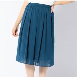シップス(SHIPS)のコットンギャザースカート SHIPS(ロングスカート)