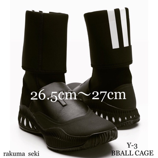 ワイスリー(Y-3)の新品 Y-3 BBALL CAGEメンズ ブーツ ハイカット スニーカー27cm(スニーカー)
