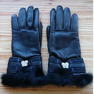 アナスイ(ANNA SUI)の【未使用】【ANNA SUI】革 手袋(手袋)