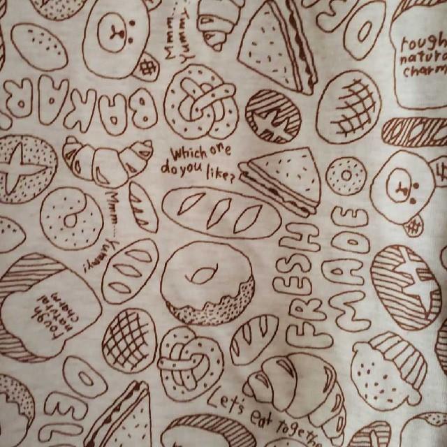 rough(ラフ)のパン総柄Tシャツ レディースのトップス(Tシャツ(半袖/袖なし))の商品写真