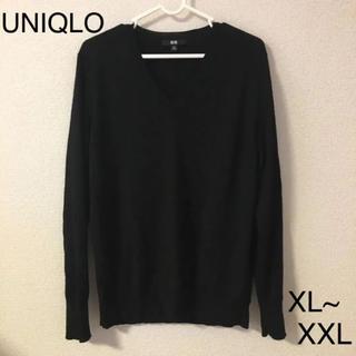 UNIQLO - UNIQLO 黒ニット XXL