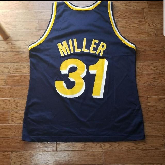 【最終値下】NBA PACERS レジー・ミラー ユニフォーム メンズのトップス(タンクトップ)の商品写真