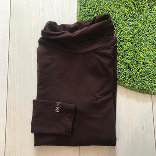 ポールアンドジョー(PAUL & JOE)の美品 PAUL&JOE 6 ブラウン カットソー(Tシャツ/カットソー)