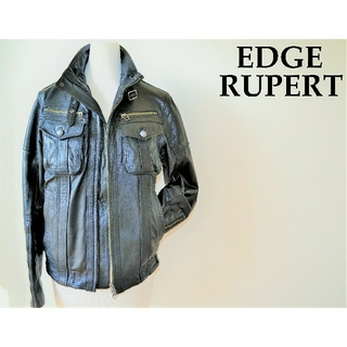 RUPERT - 本革 やぎ革 ルパート 新品 ライダース バイク LDH 黒 レザー ジャケット