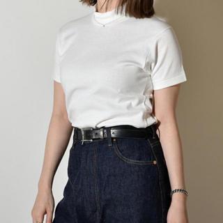 ヤエカ(YAECA)のアナトミカ モックネック(Tシャツ(半袖/袖なし))