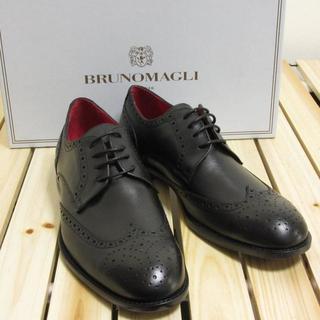 ブルーノマリ(BRUNOMAGLI)の新品 ブルーノマリ ドレスシューズ ウイングチップ メダリオン 41サイズ(ドレス/ビジネス)