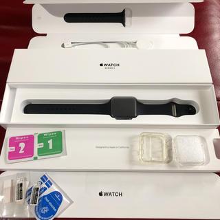 アップルウォッチ(Apple Watch)のApple Watch series3 42mm GPS(その他)