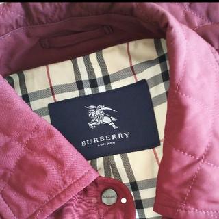 BURBERRY - BURBERRY バーバリー キルティングコート 美品!