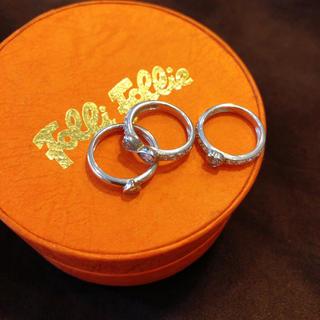 フォリフォリ(Folli Follie)のFolli Follie フォリフォリ 指輪(リング(指輪))