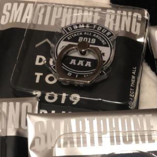トリプルエー(AAA)のAAA DOMETOUR plus スマホリング ロゴ(ミュージシャン)