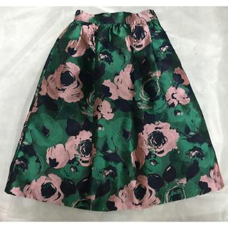 MERCURYDUO - マーキュリーデュオ  花柄ジャガードスカート
