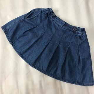 サンカンシオン(3can4on)のデニムスカートサイズ110(スカート)