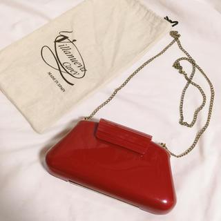 Christian Louboutin - イタリア製 パーティーバッグ クラッチバッグ チェーンバッグ