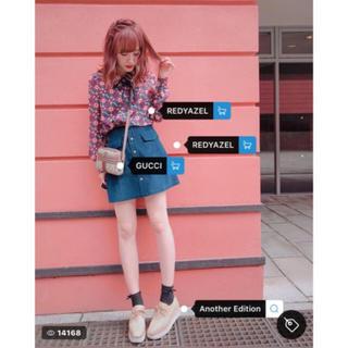 REDYAZEL - 【READYAZEL】コーデュロイミニスカート