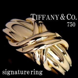 Tiffany & Co. - ティファニー Tiffany  シグネチャー リング