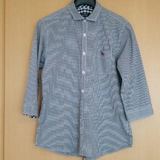 バーバリーブラックレーベル(BURBERRY BLACK LABEL)のバーバリーブラックレーベル 七分袖シャツ(シャツ)