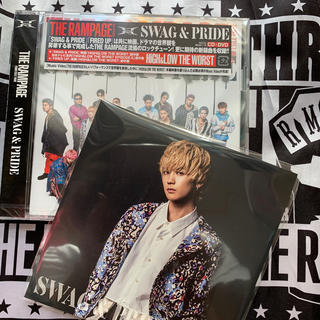 THE RAMPAGE - SWAG & PRIDE (CD+DVD) #吉野北人