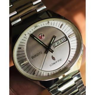 ラドー(RADO)のRADO STARFIRE  稼動品 ピカピカ(腕時計(アナログ))