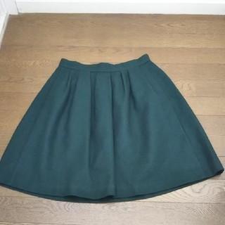 インデックス(INDEX)のインデックス購入*大人かわいいボックスフレアースカート(ひざ丈スカート)