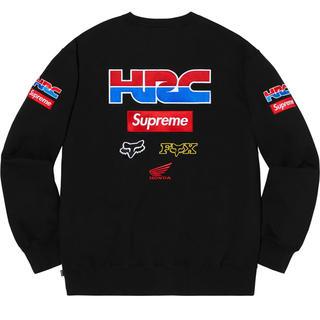 シュプリーム(Supreme)のSupreme®/Honda®/Fox Racing Crewneck ホンダ (スウェット)