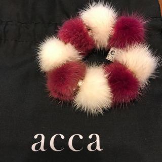 acca - acca ファー×ミラーボールシュシュ / アッカ