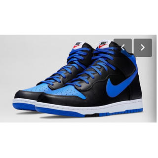 ナイキ(NIKE)のNIKE DUNK COMFORT HIGH CMFT Lyon Blue (スニーカー)