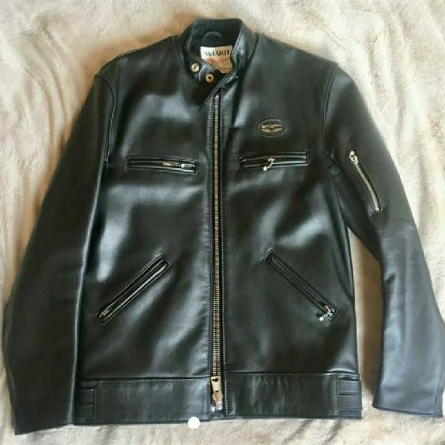 Lewis Leathers(ルイスレザー)のヒステリックグラマー×ルイスレザー コラボ メンズのジャケット/アウター(ライダースジャケット)の商品写真
