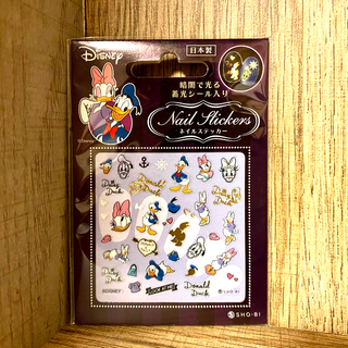 Disney - ドナルド デイジー ネイルステッカー