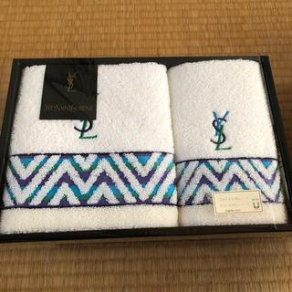イヴサンローランボーテ(Yves Saint Laurent Beaute)の【新品未使用】イブサンローラン  タオル(タオル/バス用品)