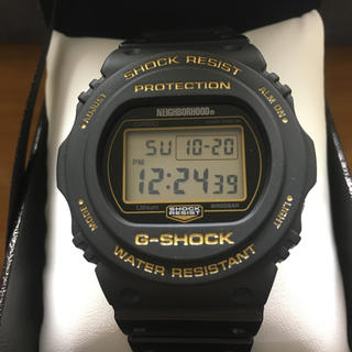 NEIGHBORHOOD - NEIGHBORHOOD G-SHOCK DW-5750 ネイバーフッド