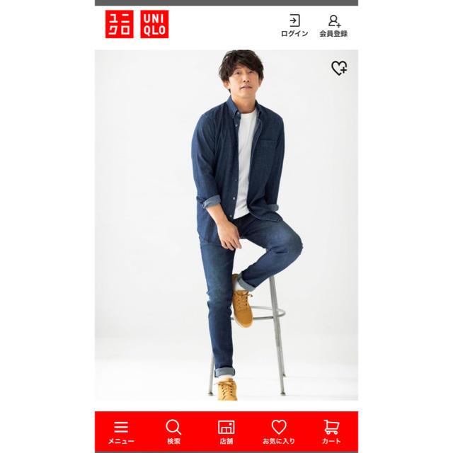 UNIQLO(ユニクロ)のUNIQLO ユニクロ デニムシャツ メンズのトップス(シャツ)の商品写真