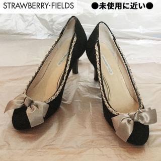 ストロベリーフィールズ(STRAWBERRY-FIELDS)の★日本製♡STRAWBERRY FIELDS ♪美脚リボンパンプス(ハイヒール/パンプス)