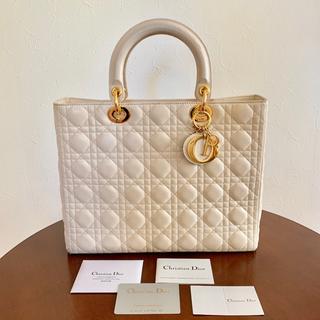 Christian Dior - レディディオール ラムレザー 保証付正規品